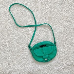 Volcom Green Circle Mini Crossbody